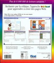 Creer Des Pages Web En Html, C'Est Simple - 4ème de couverture - Format classique