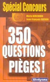 350 questions pieges ! - Intérieur - Format classique