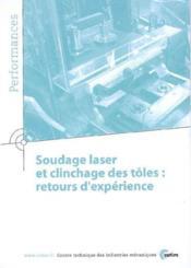 Soudage laser et clinchage des toles retours d'experiences performances 9q43 - Couverture - Format classique