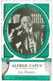 Les Pensees D'Alfred Capus - Intérieur - Format classique