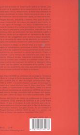 La Chaine Et Le Reseau - 4ème de couverture - Format classique