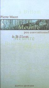 Meurtre Peu Conventionnel A Billom - Intérieur - Format classique
