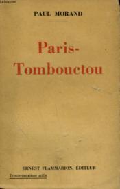 Paris-Tombouctou. Documentaire. - Couverture - Format classique