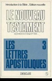 Lettres Apostoliques - Couverture - Format classique