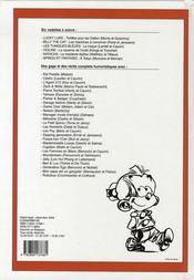 Recueil Spirou t.290 - 4ème de couverture - Format classique