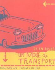 Un mode de transport - Intérieur - Format classique