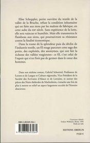 Le Fil De L'Espoir - 4ème de couverture - Format classique