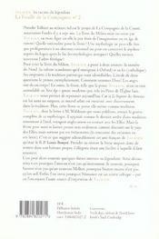 La feuille de la compagnie t.2 ; Tolkien, les racines du légendaire - 4ème de couverture - Format classique
