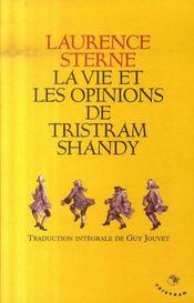 La vie et les opinions de Tristram Shandy ; intégrale - Intérieur - Format classique