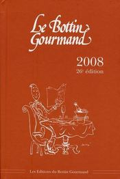 Bottin gourmand (édition 2008) - Intérieur - Format classique