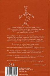 Bottin gourmand (édition 2008) - 4ème de couverture - Format classique