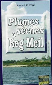 Plumes sèches à Beg-Meil - Couverture - Format classique