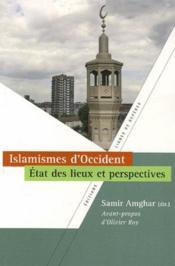 Islamismes d'Occident ; états des lieux et perspectives - Couverture - Format classique