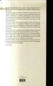 Atlas des Arts contemporains - 4ème de couverture - Format classique