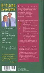 Classement des meilleurs vins de france 2004 - 4ème de couverture - Format classique
