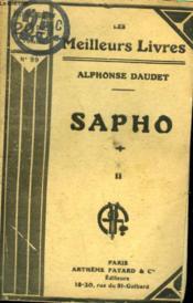 Sapho. Tome 2. Collection : Les Meilleurs Livres N° 99. - Couverture - Format classique