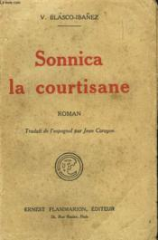 Sonnica La Courtisane. - Couverture - Format classique