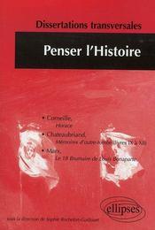 Penser l'histoire - Intérieur - Format classique