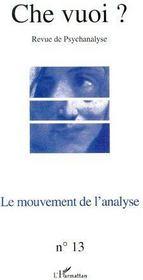 Le mouvement de l'analyse - Couverture - Format classique