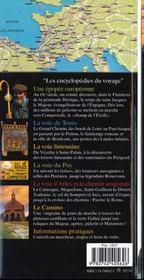 Chemins De Saint-Jacques (La Voie De Tours, La Voie Limousine - 4ème de couverture - Format classique