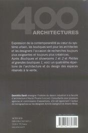 Petites et grandes boutiques t.2 - 4ème de couverture - Format classique