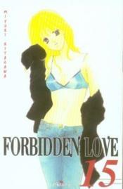 Forbidden love t.15 - Couverture - Format classique