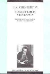 Robert Louis Stevenson - Couverture - Format classique