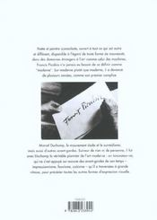 Picabia - 4ème de couverture - Format classique