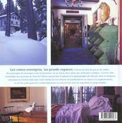 Chalets Chics Et Rustiques - 4ème de couverture - Format classique