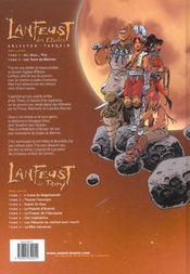 Lanfeust des étoiles t.2 ; les tours de Meirrion - 4ème de couverture - Format classique
