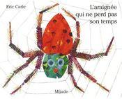 L'araignée qui ne perd pas son temps - Couverture - Format classique