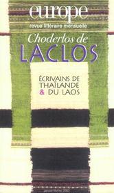 Europe Choderlos De Laclos N 885 886 Janvier Fevrier 2003 - Intérieur - Format classique