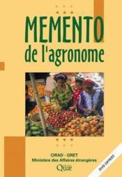 Mémento de l'agronome - Couverture - Format classique