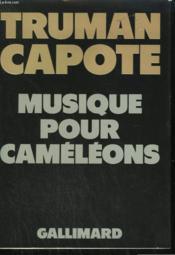 Musique Pour Cameleons. - Couverture - Format classique