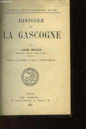 Histoire De La Gascogne - Couverture - Format classique