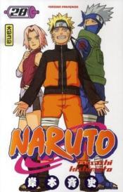 Naruto t.28 - Couverture - Format classique