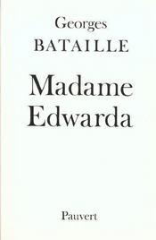 Madame Edwarda - Intérieur - Format classique