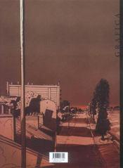 Le grec t.1 ; de la poudre et des balles - 4ème de couverture - Format classique