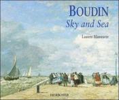 Boudin ; sky and sea - Couverture - Format classique