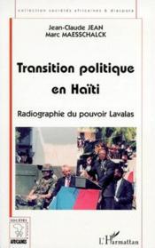 Transition Politique En Haiti. Radiographie Du Pouvoir - Couverture - Format classique