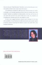 La Rigolotherapie - 4ème de couverture - Format classique