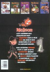 Nelson t.4 ; démon de midi - 4ème de couverture - Format classique