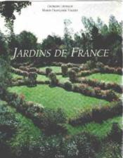 Jardins de france - Couverture - Format classique