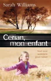 Cérian, mon enfant - Couverture - Format classique