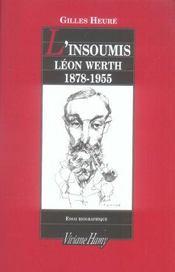L'insoumis ; Léon Werth, 1878-1955 - Intérieur - Format classique