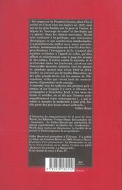 L'insoumis ; Léon Werth, 1878-1955 - 4ème de couverture - Format classique
