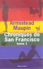 Vente  Chroniques de San Francisco ; INTEGRALE VOL.1 ; T.1 A T.3  - Armistead Maupin