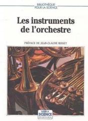 Les instruments de l'orchestre - Couverture - Format classique