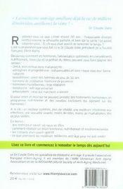 Guide Pratique Medecin Anti Age - 4ème de couverture - Format classique