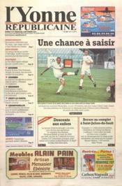 Yonne Republicaine (L') N°208 du 08/09/2001 - Couverture - Format classique